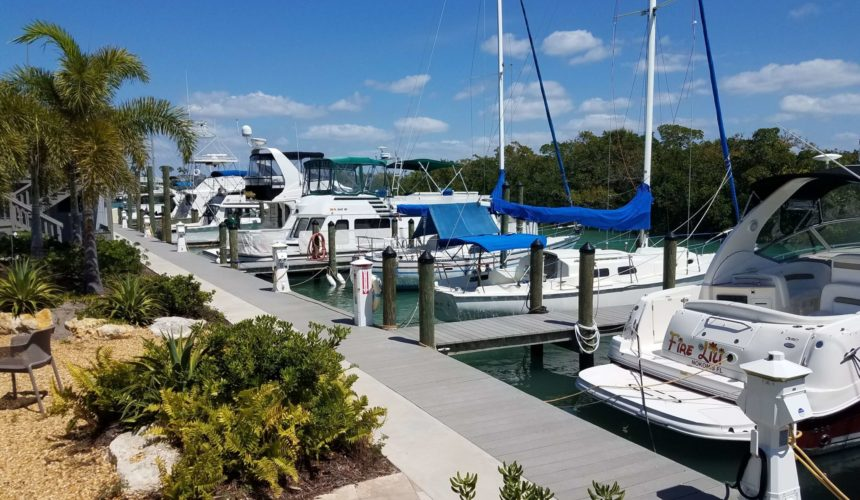 Sarasota boat rentals at Escape
