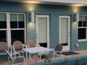 waterfront patio units in Venice Fl