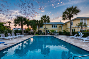 Luxury Nokomis Resort Amenities - New Pool & Clubhouse
