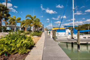 escape resort marina docks