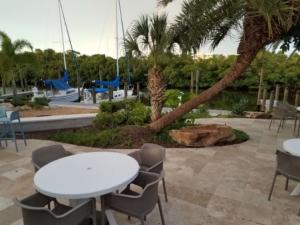 Nokomis Hotel Grilling Firepit marina